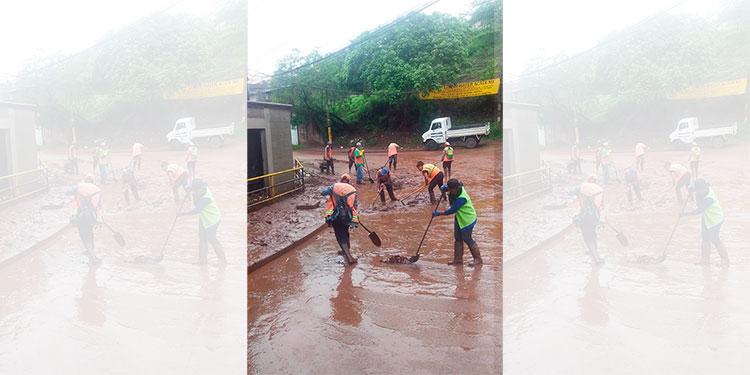 Codem se mantiene en alerta por lluvias
