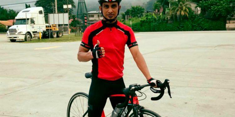 Mario Berríos disfruta del ciclismo y su familia