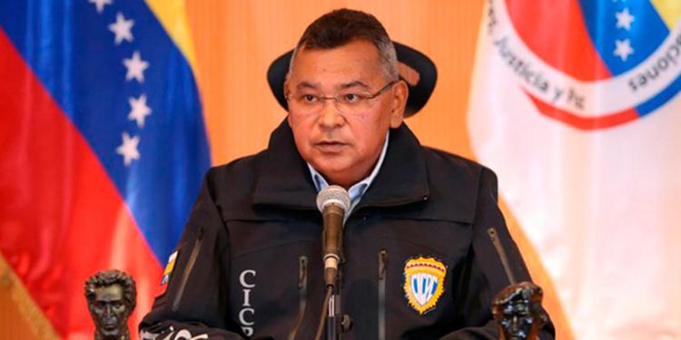 Néstor Reverol, ministro de Interior y Justicia de Venezuela.
