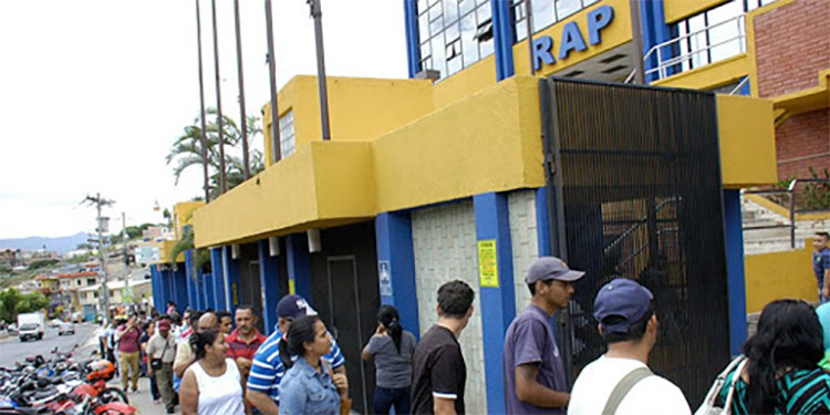 RAP realiza pago a empleados suspendidos