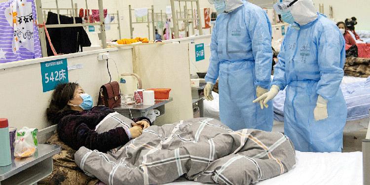 En el IHSS de San Pedro Sula las salas de atención de pacientes positivos de COVID-19 están llenas en un 80 por ciento.
