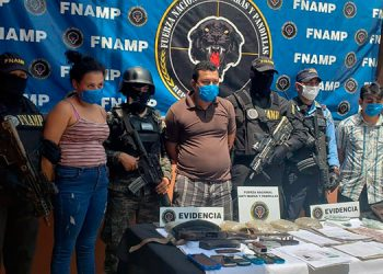 Tres de MS-13 caen con armas y drogas