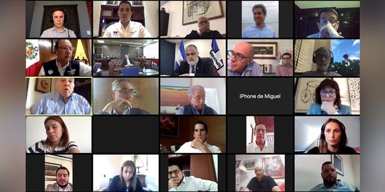 En la conferencia Sánchez pudo compartir experiencias y aprender de las recomendaciones que se plantean en otros países.