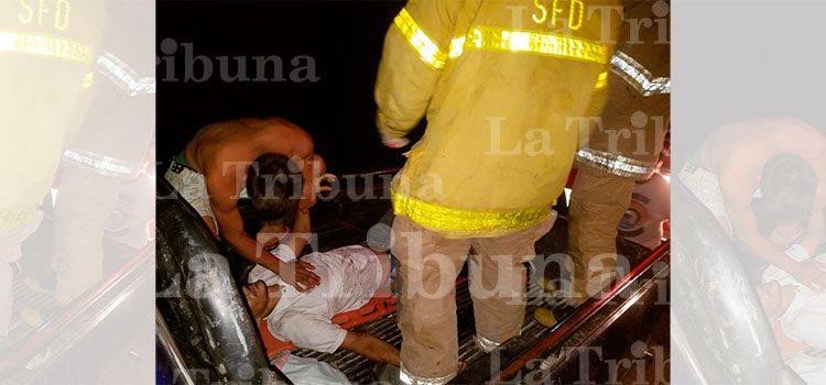 Muere niña y tres personas resultan heridas en accidente de tránsito en Colón