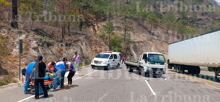 Un policía muerto deja accidente de tránsito en la carretera CA-5