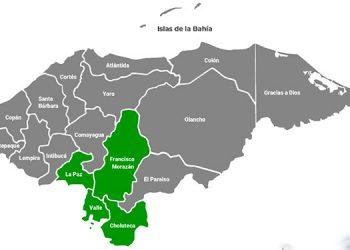 Decretan alerta verde para los departamentos de La Paz, Valle y Choluteca