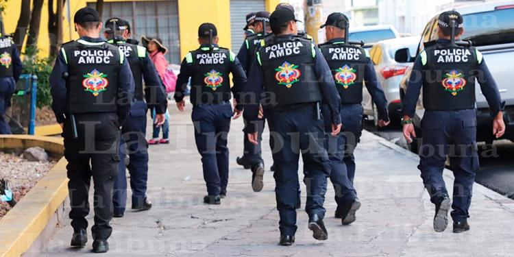 Positivos al COVID-19 seis agentes de la Policía Municipal del Distrito Central