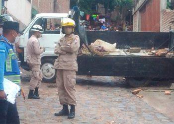 Anciana muere arrollada por una volqueta en colonia Villanueva