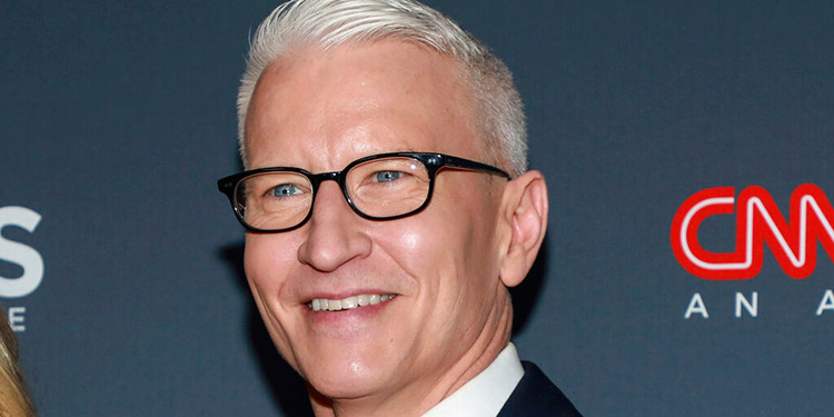 Anderson Cooper es papá y le da a su hijo un nombre especial