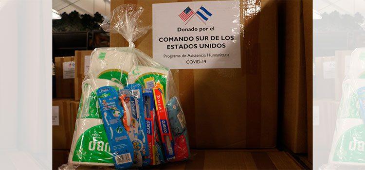 Comando Sur de los Estados Unidos entrega ayuda humanitaria al Sinager