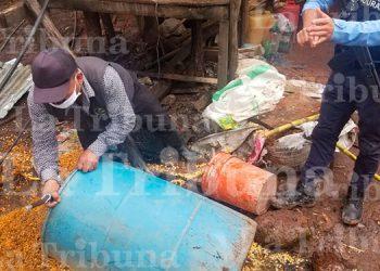 Desmantelan laboratorio clandestino de bebidas alcohólicas en La Paz