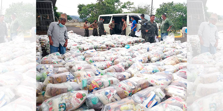 IHTT entrega 6,000 bolsas solidarias a transportistas de la capital