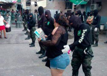 Trasladan privadas de libertad del PNFAS