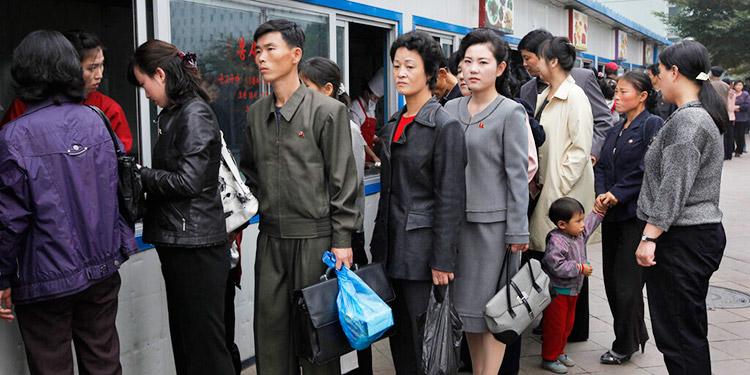 Seúl reporta compras de pánico en Norcorea por la crisis