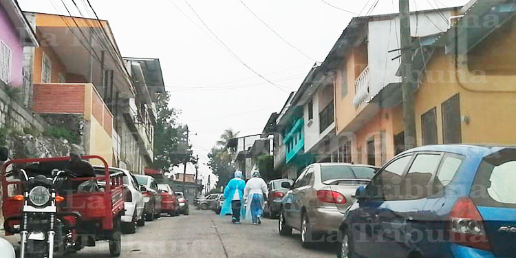 Unas 122 colonias y barrios del Distrito Central presentan casos positivos de COVID-19