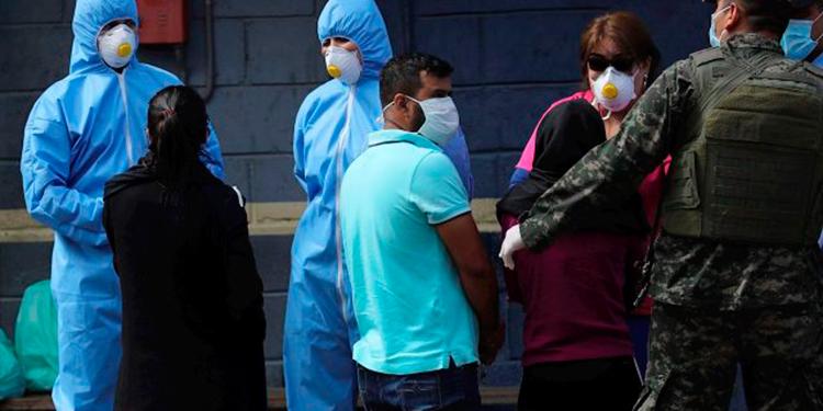Honduras reporta 8,858 casos positivos de COVID-19