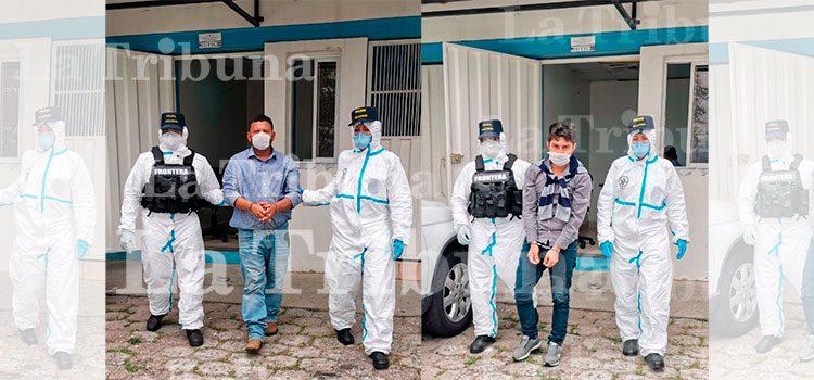 Interpol captura a dos hondureños tras ser deportados a San Pedro Sula