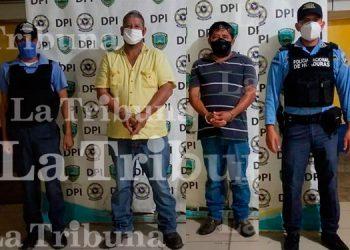 Capturan a conductores de equipo pesado por tráfico ilegal de personas en Ocotepeque