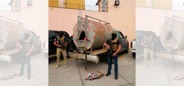 Detención Judicial contra cuatro personas que transportaban droga en cisterna