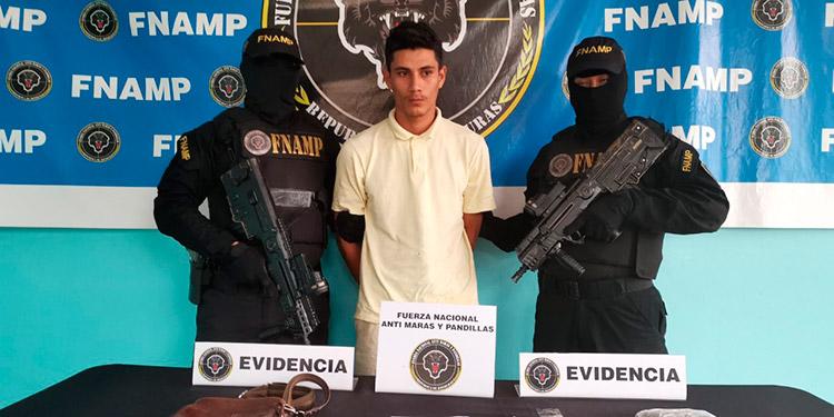 Autoridades indicaron que Rony Odir Caballero Miranda se ha dedicado a la venta y distribución de droga en el municipio de El Porvenir y la aldea El Pino.