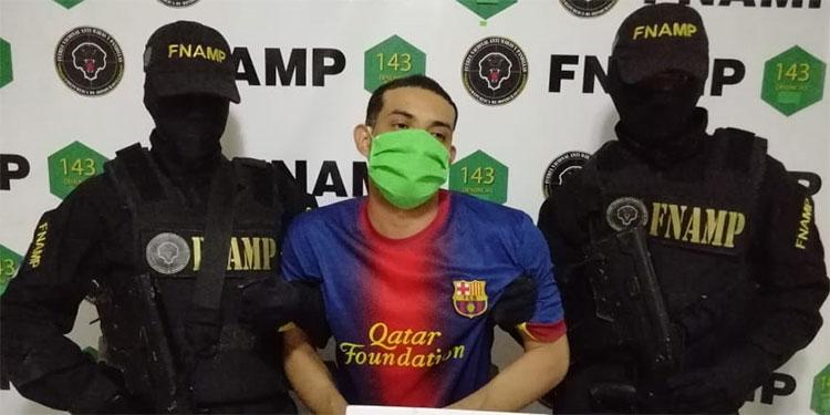 """Marlon Alexander González Palma, de 32 años, conocido en el mundo criminal con el alias de """"El Malicioso""""."""
