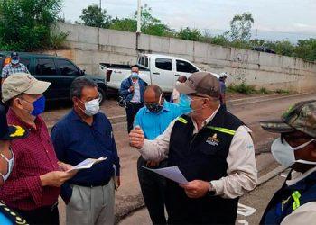 Inspeccionan aplicación de protocolos de bioseguridad de Feria agropecuaria de colonia Villanueva