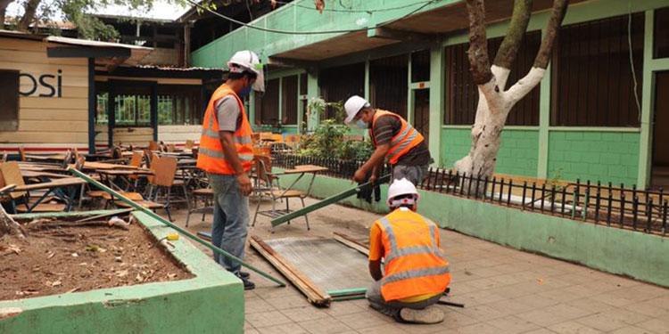 Los técnicos de Idecoas ya trabajan en la infraestructura del inmueble.