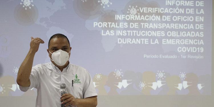 IAIP presenta informe sobre calidad de información