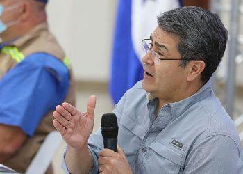 """""""Este país no es tierra fértil para sus fechorías"""", advierte JOH a criminales"""