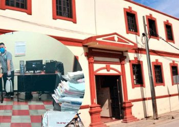 Poder Judicial suspende labores por posible contagio de COVID-19
