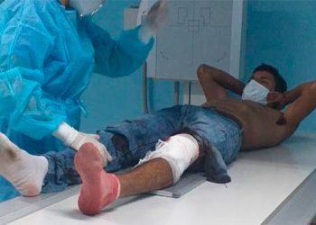 Supuesto asaltante resulta herido durante enfrentamiento con la Policía Nacional en El Paraíso