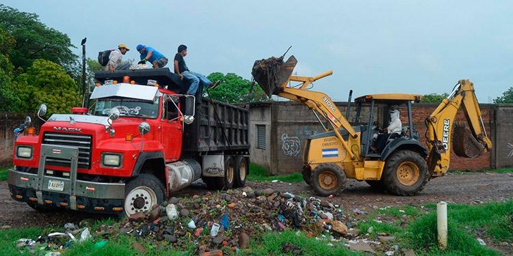Un éxito fue la segunda jornada de limpieza en la ciudad de Choluteca.