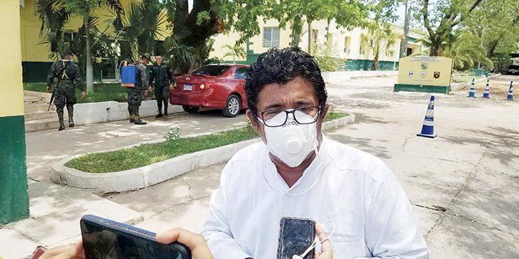 Quintín Soriano, alcalde del municipio de Choluteca.