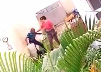Fiscalía investiga maltrato de un adulto mayor tras video publicado en las redes sociales (Video)