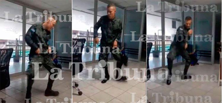 """""""Baja deshonrosa"""" para soldado hondureño por subir video en Tik Tok"""