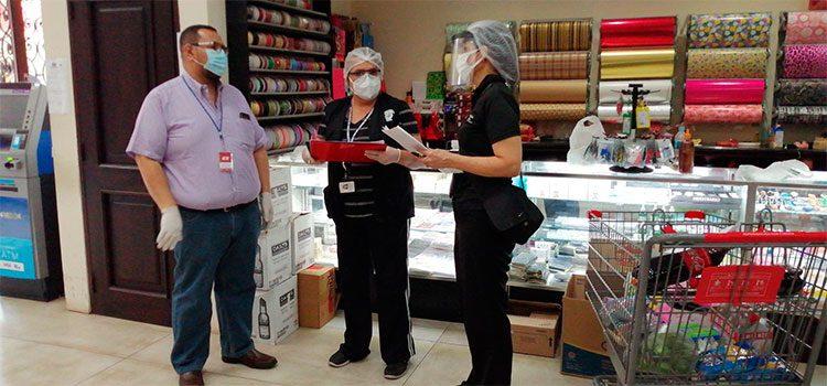Ministerio Pública inspecciona medidas de bioseguridad en supermercados y comercios