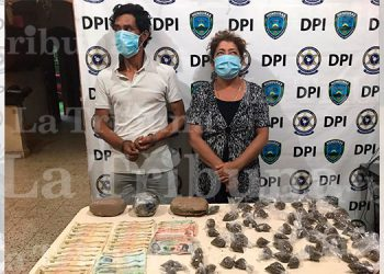 Capturan a distribuidores de droga en Santa Bárbara