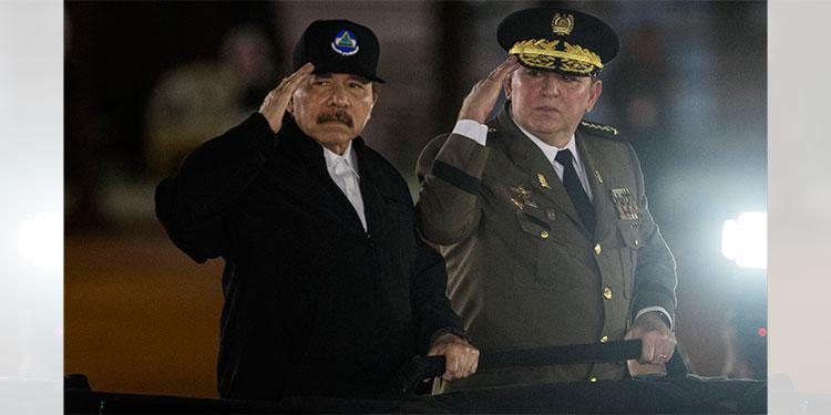 EE.UU. sanciona al jefe del Ejército y al ministro de Hacienda de Nicaragua