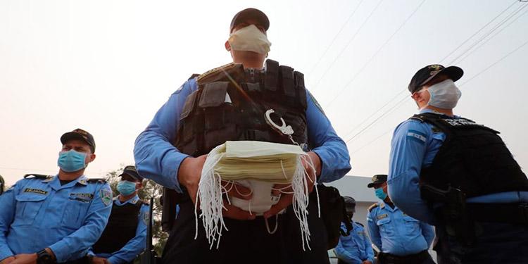 Dos miembros de la Policía Nacional dan positivo al COVID-19 en SPS