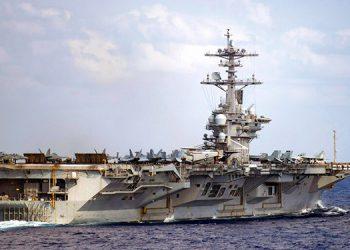 Marineros en portaaviones de EEUU dan positivo de nuevo