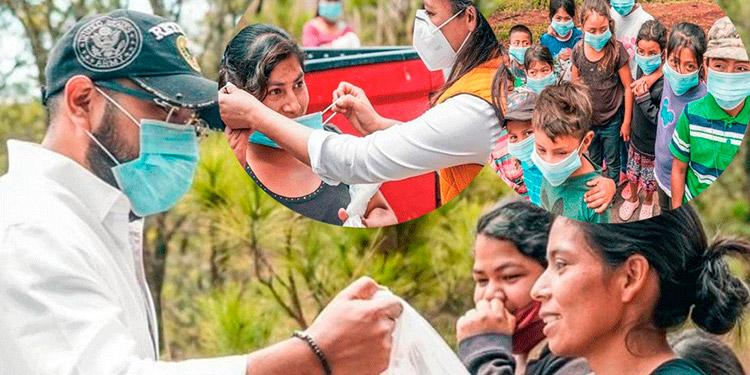 Diputados llevan provisiones a las aldeas de Francisco Morazán