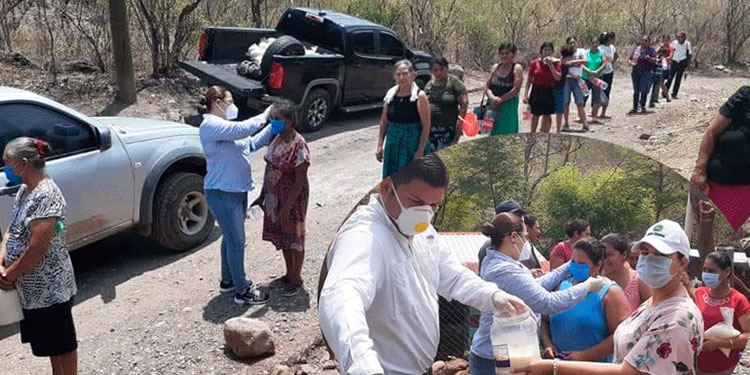 Habitantes de San Antonio de Flores y otras comunidades fueron los beneficiados.