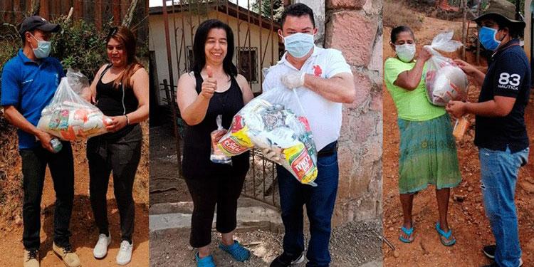 A la fecha dos millones 376 mil 415 personas han sido beneficiadas con bolsas de alimento.