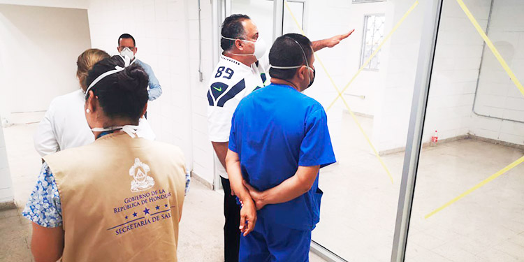 Gimnasio en SPS reúne las condiciones apropiadas para atender a pacientes con COVID-19