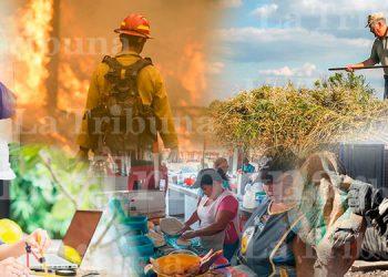Hondureños conmemoran el Día del Trabajador a medio vapor(Video)