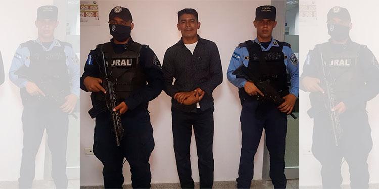 Capturan al presunto violador de una niña en Olancho