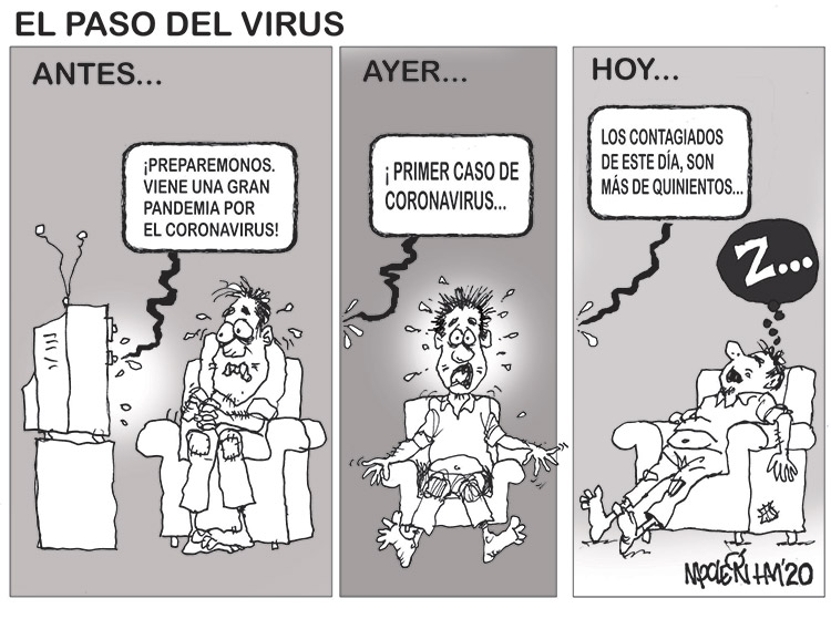 EL PASO DEL VIRUS