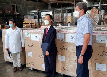 Aduanas de Honduras facilita gestión de una donación de Corea del Sur