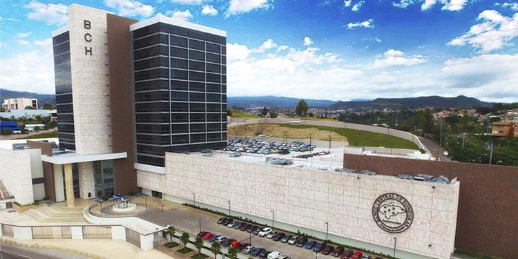 El edificio principal del BCH, inaugurado en 2016, en la capital de la República.
