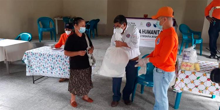 BID COPECO y Cruz Roja Hondureña entregan ayuda humanitaria en El Paraíso